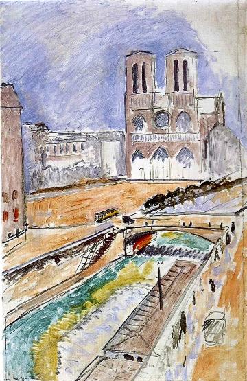 Henri Matisse Notre-Dame 1914