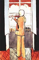Henri Matisse Violinist at the Window 1918