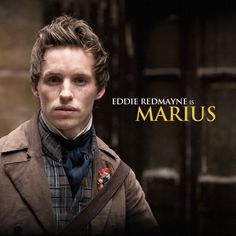 Eddie Redmayne as Marius in Les Miserables