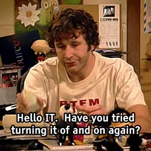 IT Crowd On & Off