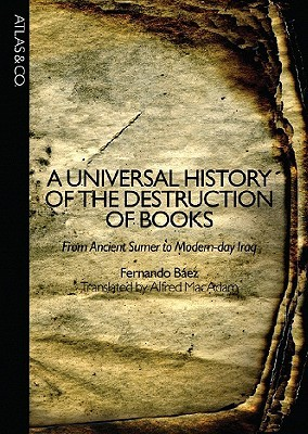 History of Destruction of Books cover