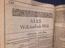 first-folio-alls-well-that-ends-well