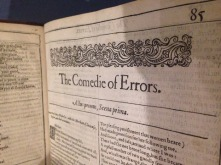 first-folio-comedy-of-errors