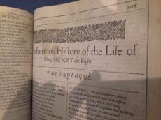 first-folio-henry-viii