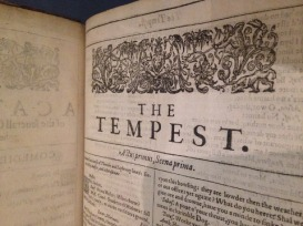 first-folio-the-tempest