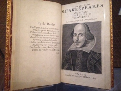 first-folio-title-page
