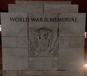 World War II Memorial Enterance