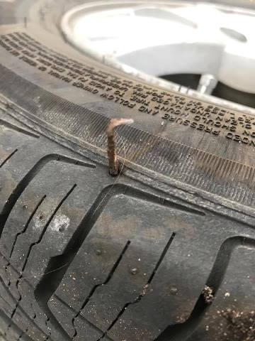 tire-with-staple