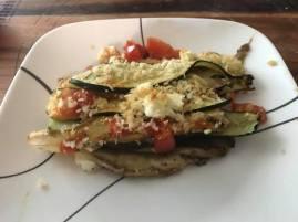 Eggplant Zucchini Tomato Casserole 8