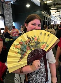 Krystal with Fan