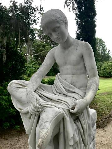 Middleton Place Statue
