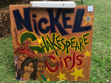 Nickel Shakespeare Girls sign 1
