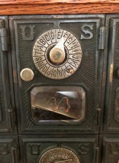 Old Post Office Box