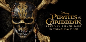 Pirates of the Caribbean Dead Men Tell No Tales Horizontal Promo Poster'