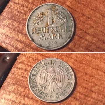 1950 Deutschemark