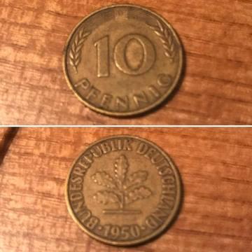 1950 Pfennig