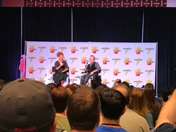 Alex Kingston panel 2 Raleigh Supercon 2017