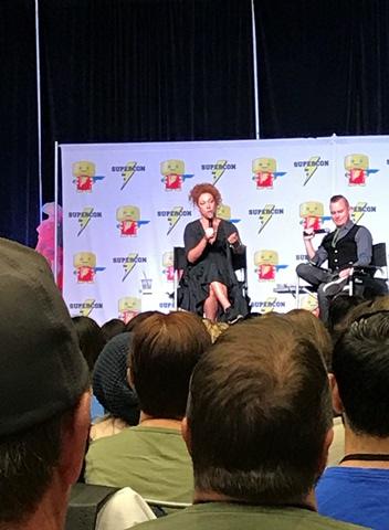 Alex Kingston panel 3 Raleigh Supercon 2017