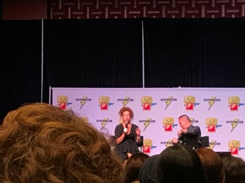 Alex Kingston panel Raleigh Supercon 2017
