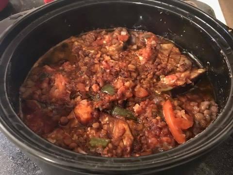 Eggplant Lentil Stew 3