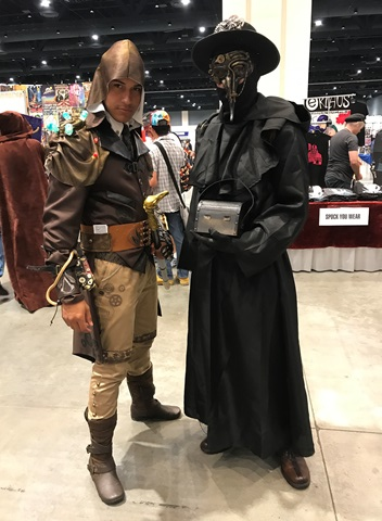 Jacob Frye and Plague Doctor