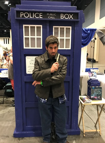 Jay and Tardis Raleigh Supercon 2017