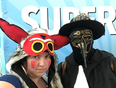 Mononoke and Palgue Doctor Selfie