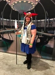 Mononoke and Tardis interior Raleigh Supercon 2017