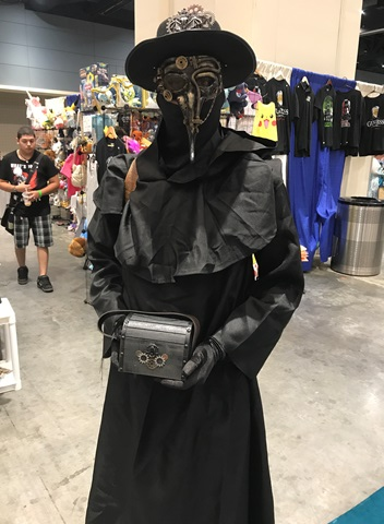 Steampunk Plague Doctor Raleigh Supercon 2017