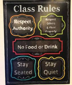 class rules 2017