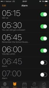 school alarms