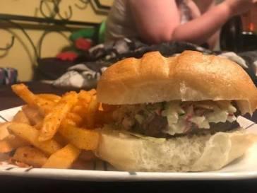 totally radish burger 2