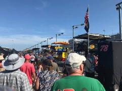 Darlington 2017 pit row