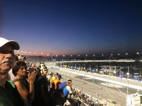 Darlington 2017 sunset