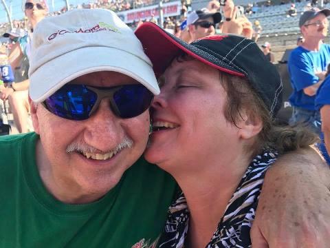 Mom and Dad at Darlington 2017
