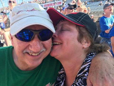 Mom and Dad at Darlington 2017
