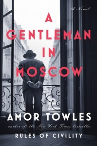 Gentleman in Moscow goodreads cover
