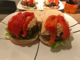 hummus a tune burger 3