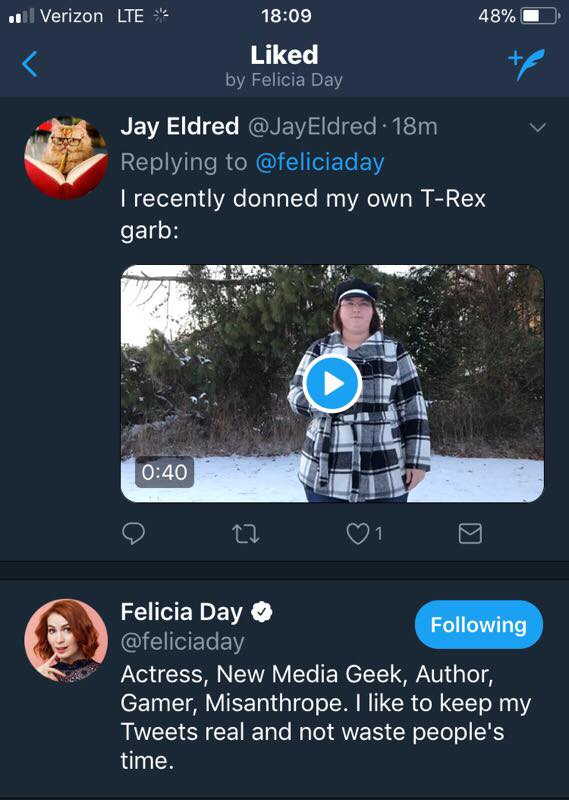 Felicia Day Snow Rex 2