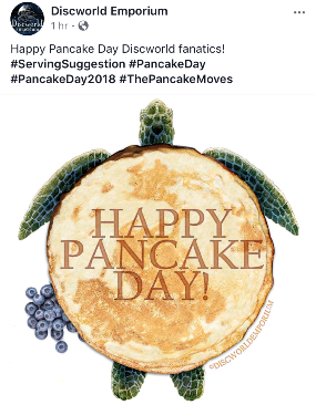 Discworld Pancake Day